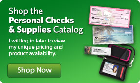 Shop the Personal Checks and Supplies catalog